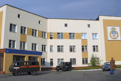 Здание военно-морского клинического госпиталя Североморска