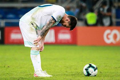 Месси высказался об уходе из сборной Аргентины