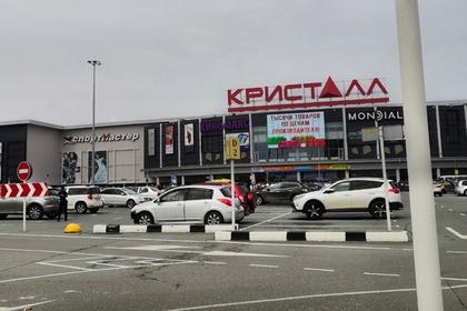 Неизвестные открыли стрельбу в российском торговом центре