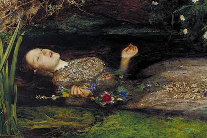 Фрагмент картины «Офелия»