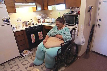 Самая толстая в мире женщина похудела на 194 килограмма и снова потолстела
