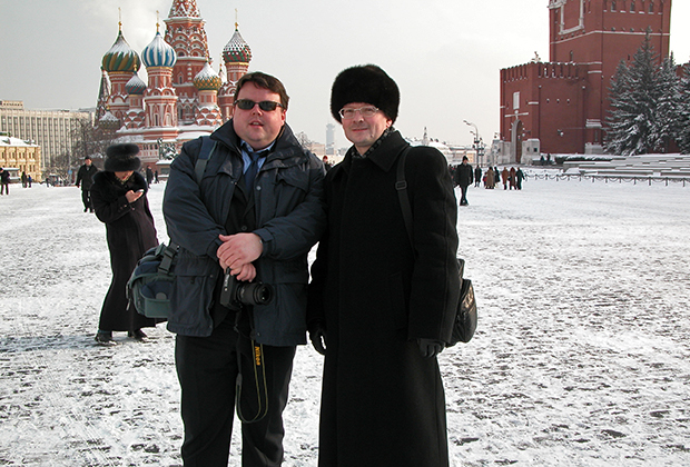 Алексей Свистунов с главным редактором Книги рекордов Гиннесса