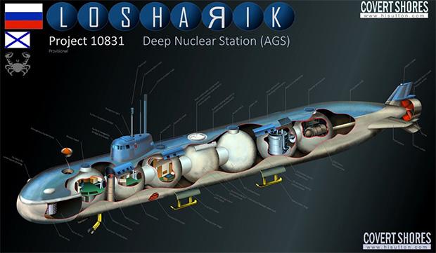 Возможная конструкция АС-31 «Лошарик»