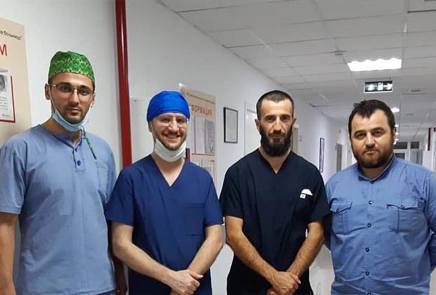 Врачи, оперировавшие Аишу в Ингушетии