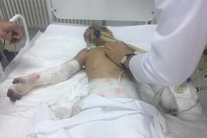 Аиша в больнице