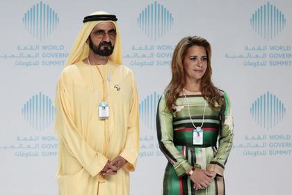 Шейх Мохаммед бин Рашид и его жена принцесса Хая