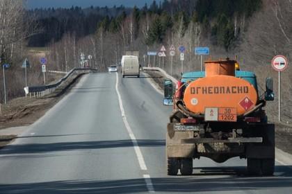 Бензовоз взорвался в Свердловской области