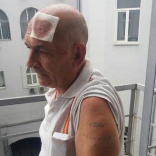 Владимир Цемах в Киеве после задержания