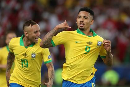 Бразилия завоевала Кубок Америки впервые с 2007 года