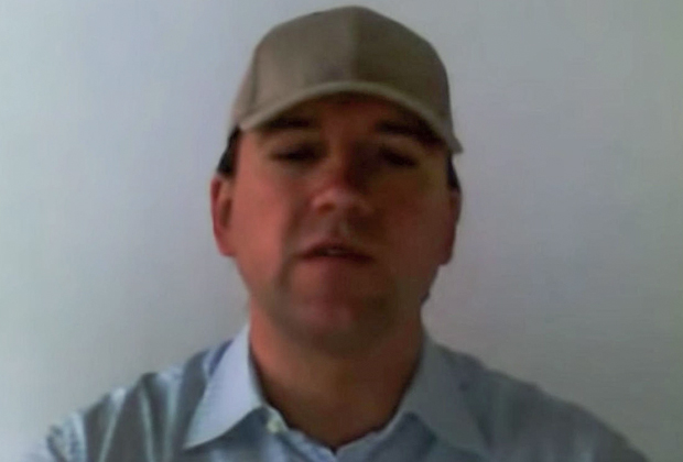 Кадр из видеообращения Анатолия Радченко (Челентано)