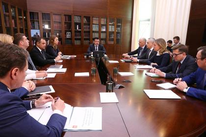 Воробьев отметил необходимость благоустройства общественных зон