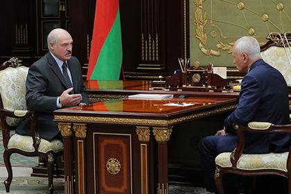 Александр Лукашенко и госсекретарь Союзного государства Григорий Рапота