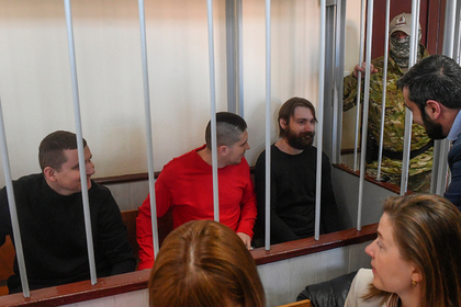 В России завершили расследование дела украинских моряков
