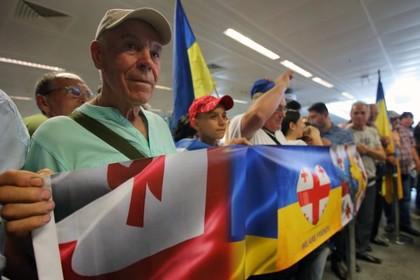 Украинский телеканал проведет телемост с Грузией