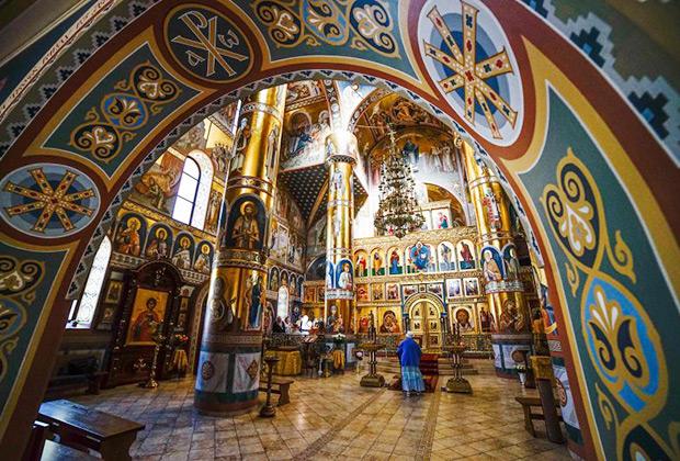 Покрово-Никольский храм в Клайпеде (Литва)
