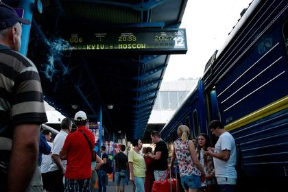 Москва резко подросла : Прибыль Украины отпоезда Киев