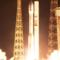 Момент старта ракеты Vega
