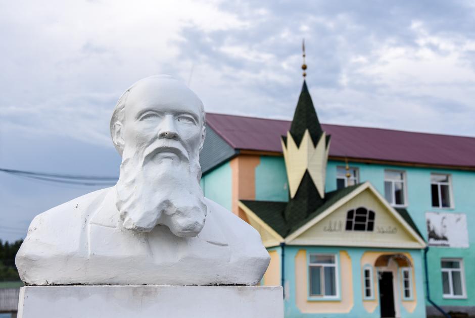 Бюст Достоевского