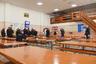 У заключенных трехразовое питание: завтракают, обедают и ужинают они по сменам, в зависимости от рабочего графика.