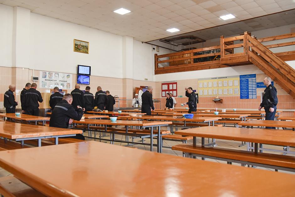 Столовая для заключенных