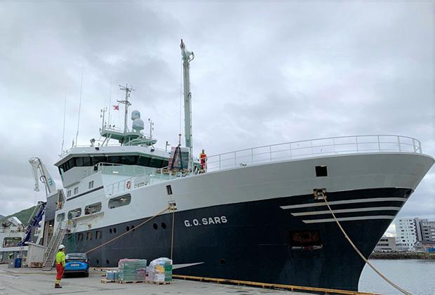 Научно-исследовательское судно G.O.Sars