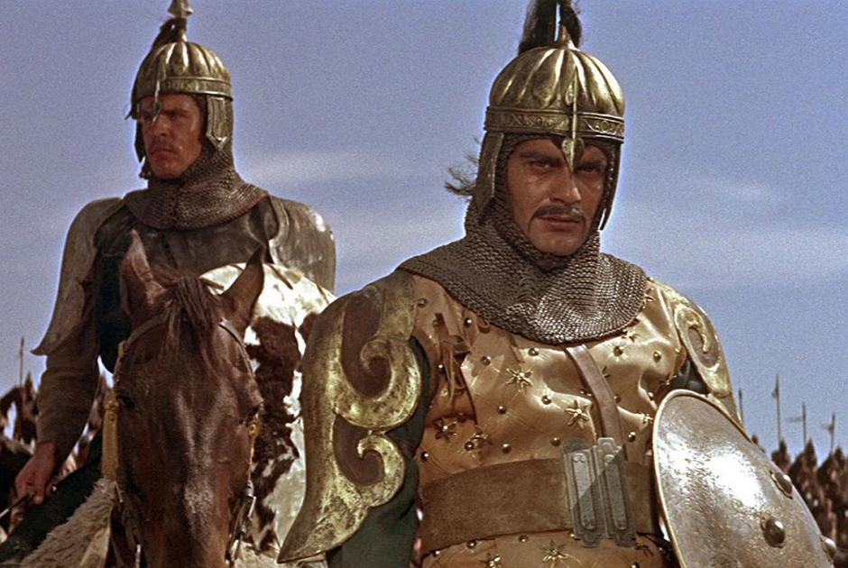 Фигура Чингисхана привлекала кинематографистов, но первое время актеры, игравшие завоевателя, мало напоминали кагана монголов. Например, в фильме «Чингисхан» 1965 года его сыграл египтянин Омар Шариф.