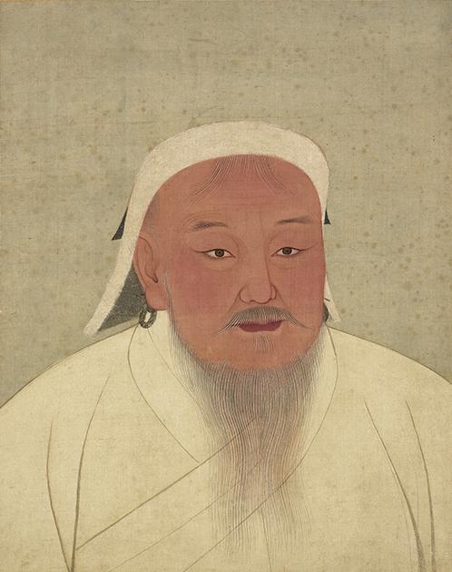 Во многих дошедших до нас китайских источниках Чингисхан изображен пожилым человеком, мало напоминающим великого завоевателя.