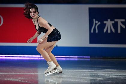 Olympic chanpyon rated stritiz Tuktamysheva sou glas