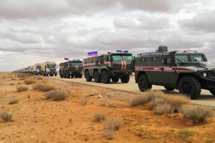 На пути российских военных в Сирии взорвалась бомба