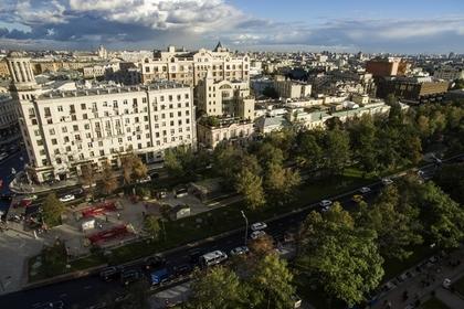 Названо число участников несогласованной акции в центре Москвы