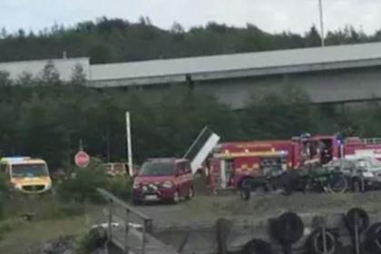 Девять человек погибли при крушении самолета в Швеции