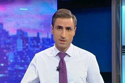 Оскорбившего Путина грузинского журналиста заменили в эфире