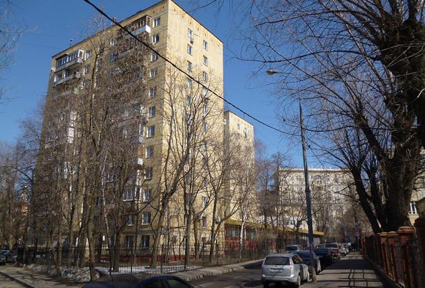 Дома на Песчаной улице