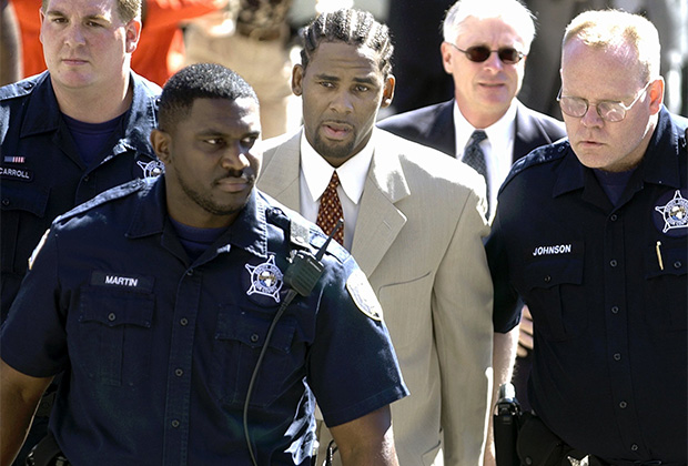 Задержание Ар Келли в 2002 году