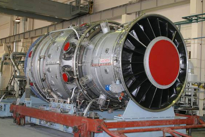 Первая российская мощная газовая турбина заработала