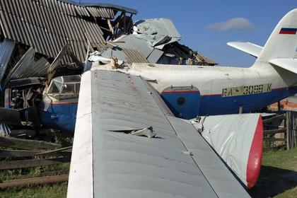 Упавший в Чечне самолет обесточил несколько населенных пунктов