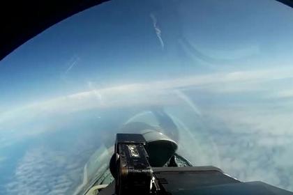 Появилось видео перехвата российских «стратегов» возле Европы