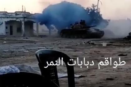 Работа элитных военных в Сирии попала на видео