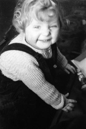 Фотография будущего канцлера в 1957 году