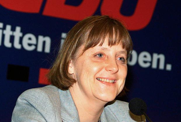 Ангела Меркель — кандидат в председатели ХДС. 1998 год