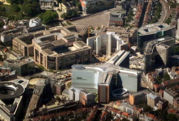 Европейский квартал в Брюсселе — место расположения штаб-квартир основных органов власти Евросоюза