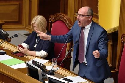 Парубий отказался созывать Раду по требованию Зеленского