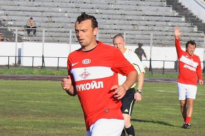Российский футболист вспомнил о выбежавшем на поле с автоматом украинце