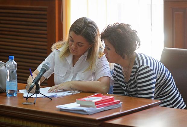 Представители стороны обвинения в Калининградском областном суде