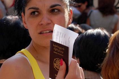 В России рассказали о планах отменить визы для грузин