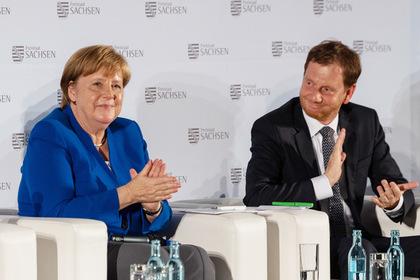 Ангела Меркель и Михаэль Кретшмер