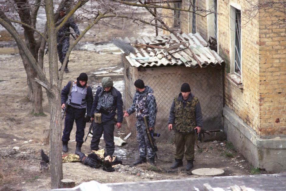 Кизляр после боевых действий. 9-18 января 1996 года