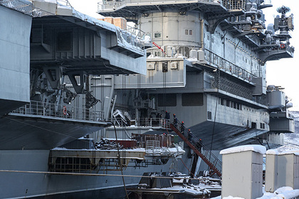 «Адмирал Кузнецов» вблизи Сирии признали бесполезным