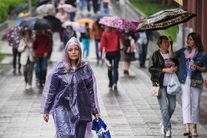 Россиянам рассказали о дождях в июле