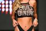 Показ бренда OMG Swimwear был выдержан в чисто американской эстетике: лайтбоксы, броские лозунги, купальники с топами с «американской проймой» и по-калифорнийски высоко вырезанными трусиками.